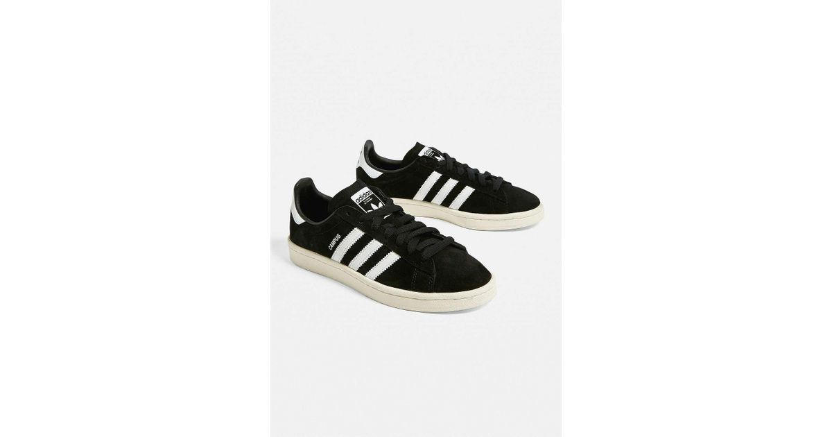 Adidas Campus Black Trainers Womens Uk 4