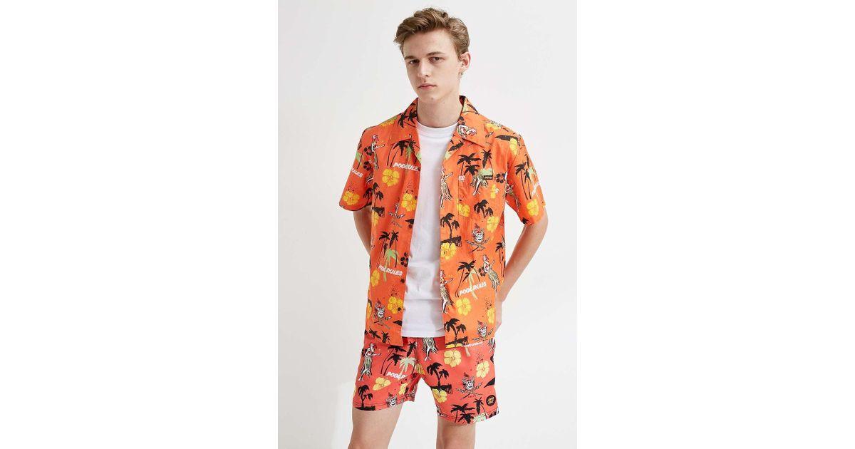 35e0b600f768e Santa Cruz Pool Rules Orange Short-sleeve T-shirt - Mens M in Orange for  Men - Lyst