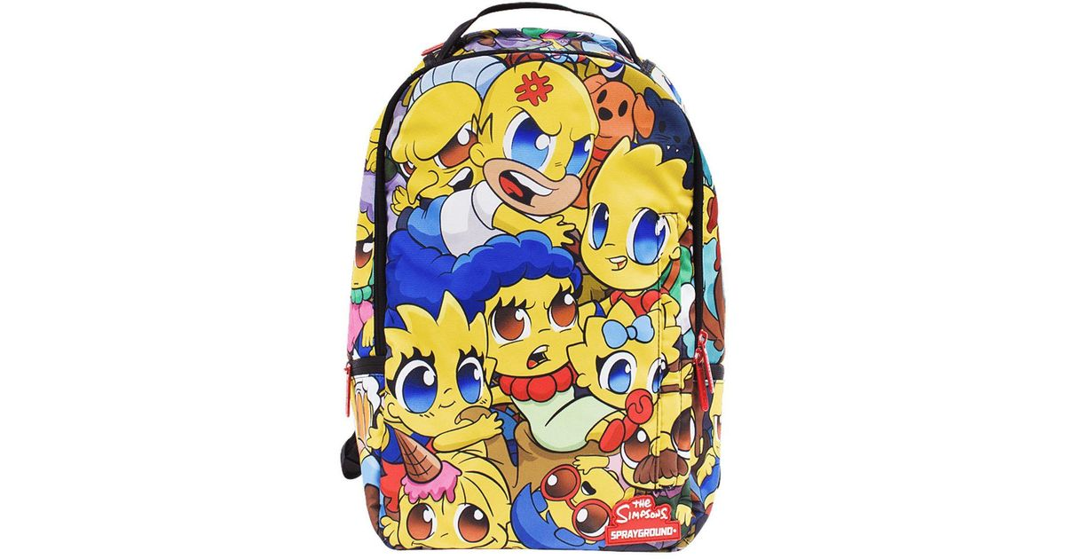 Sprayground Synthetic Simpsons Anime Pileup Backpack Lyst