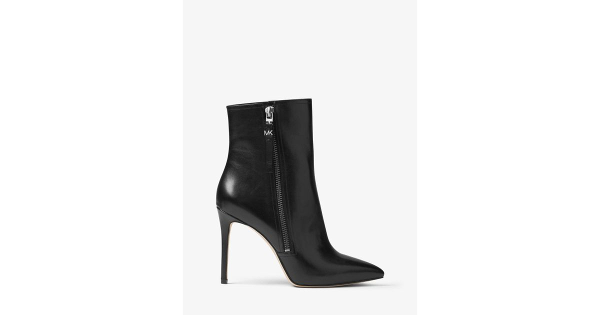 Michael Kors Dawson Leather Boots in