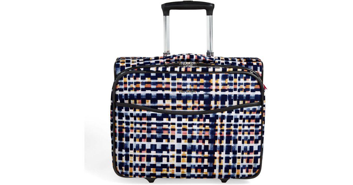 Vera Bradley Multicolor Iconic Rolling Work Bag