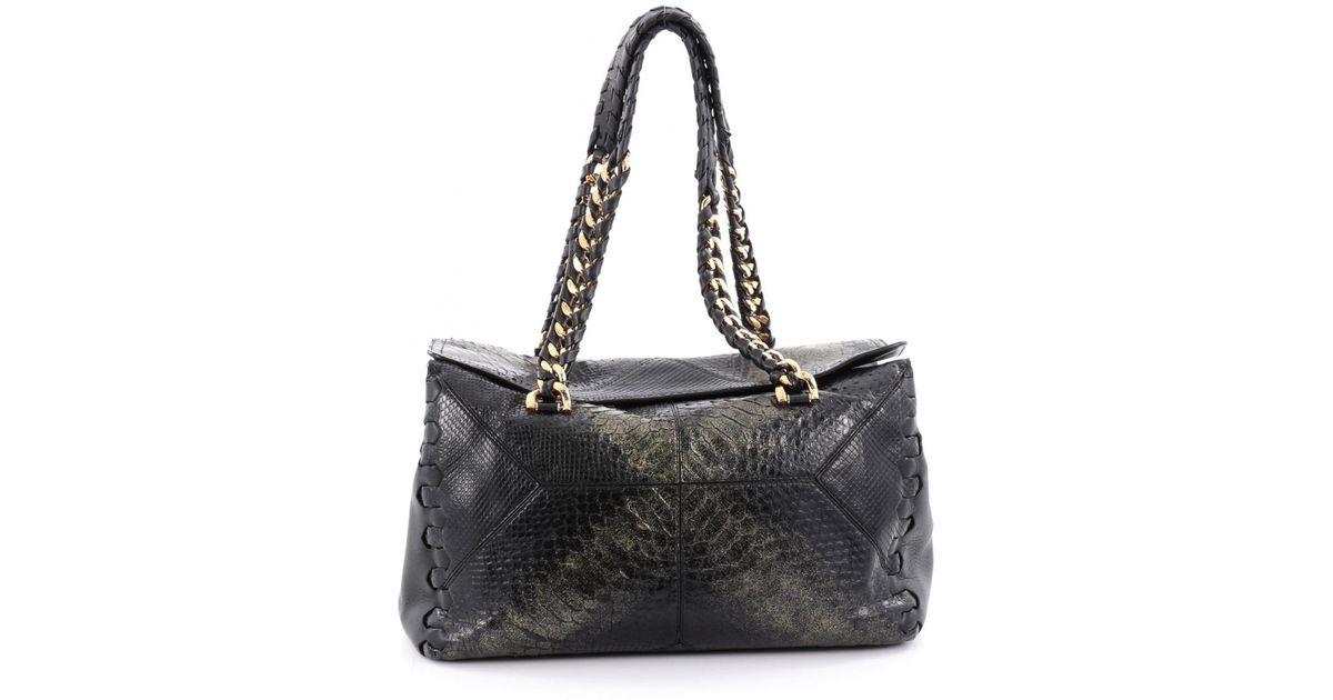 Roberto Cavalli Pre-owned - Leather handbag bo1Ts