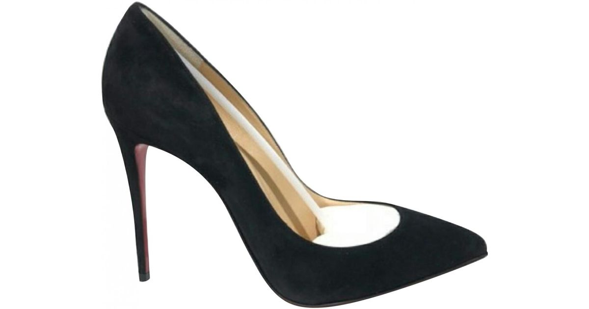 huge selection of 1982a 00684 Christian Louboutin - Black So Kate Heels - Lyst