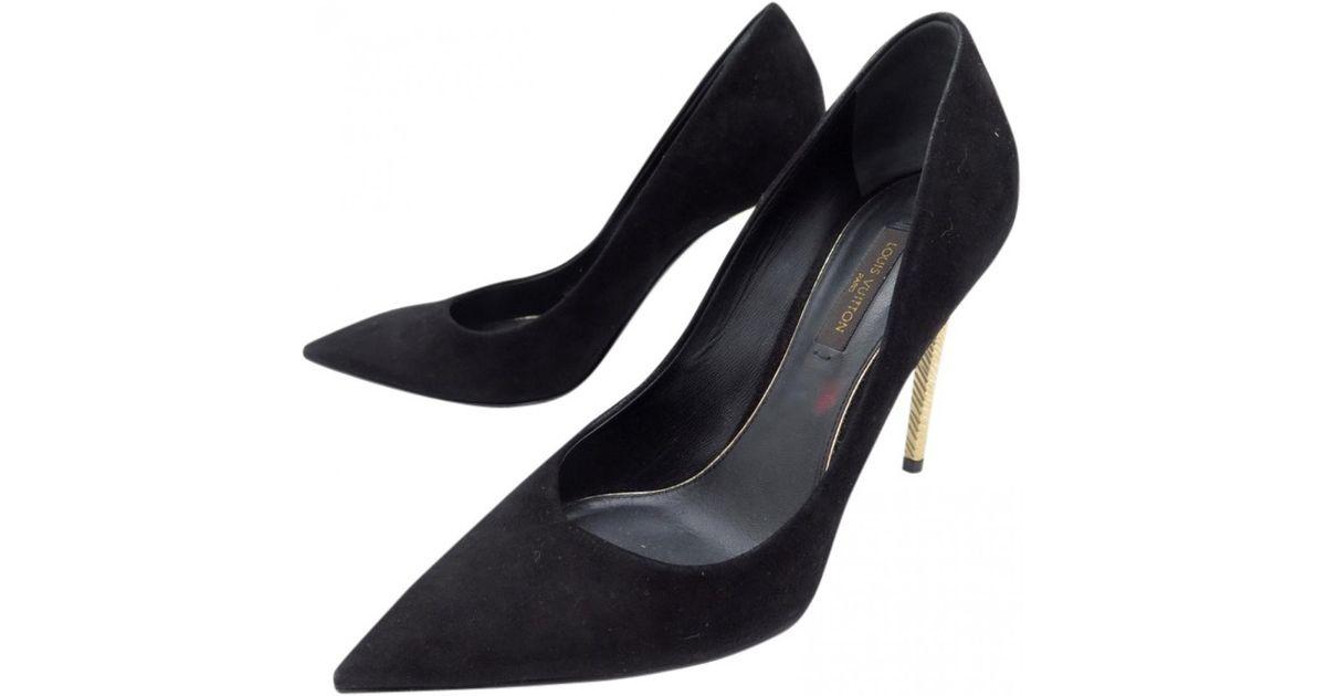 quality design meet new collection Louis Vuitton Black Heels