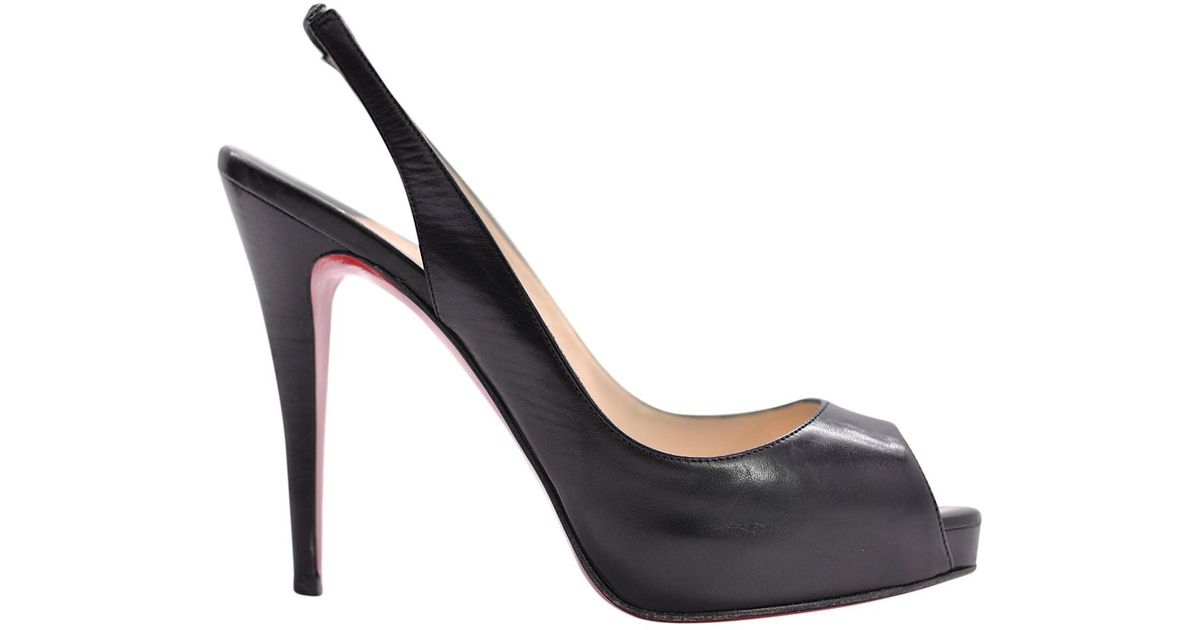 detailed look 67e4b ea5ed owned Christian Number Private Louboutin heels Pre p4BqCwc1n ...