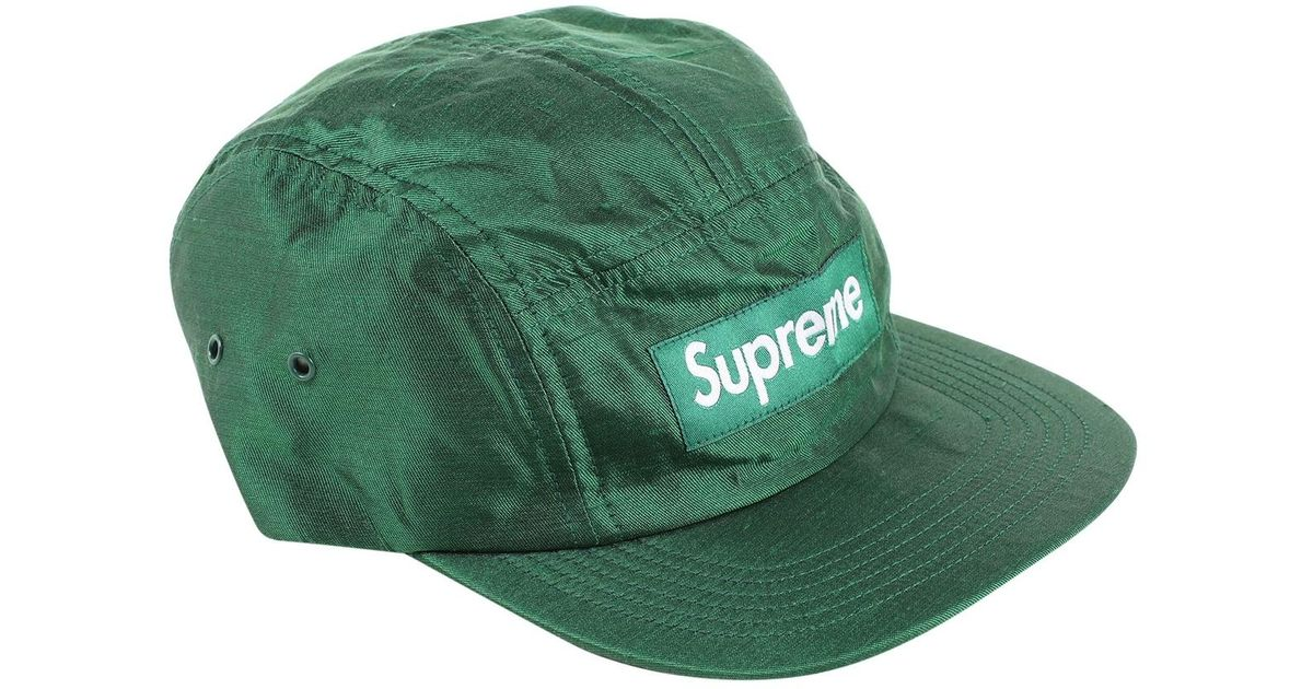 177f3604e3744 Supreme Green Silk Hats   Pull On Hats in Green for Men - Lyst