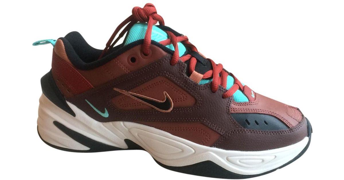 Nike Pre-owned M2k Tekno Burgundy