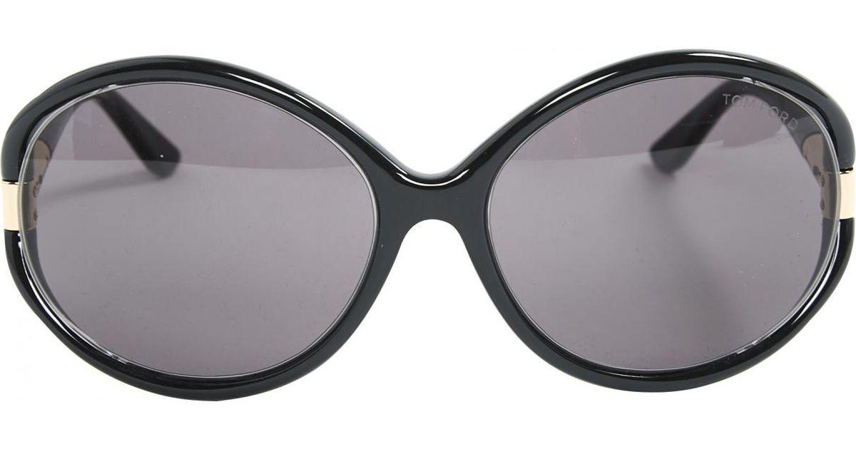 0de35c59c7 Lyst - Tom Ford Oversized Sunglasses in Black