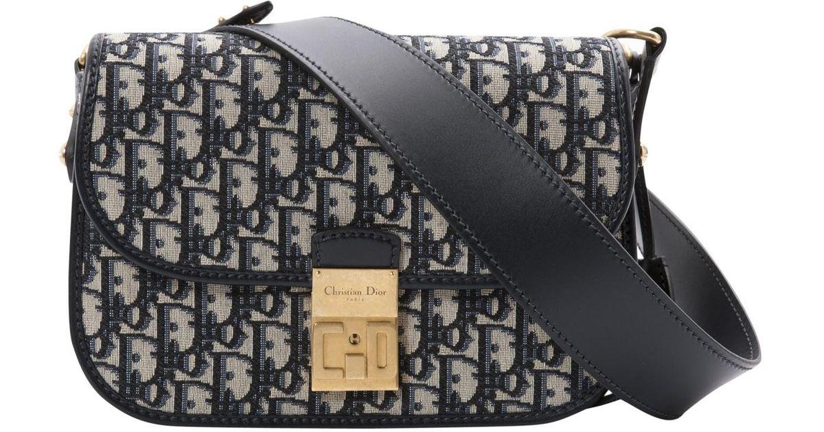 Dior Canvas Cloth Crossbody Bag Lyst
