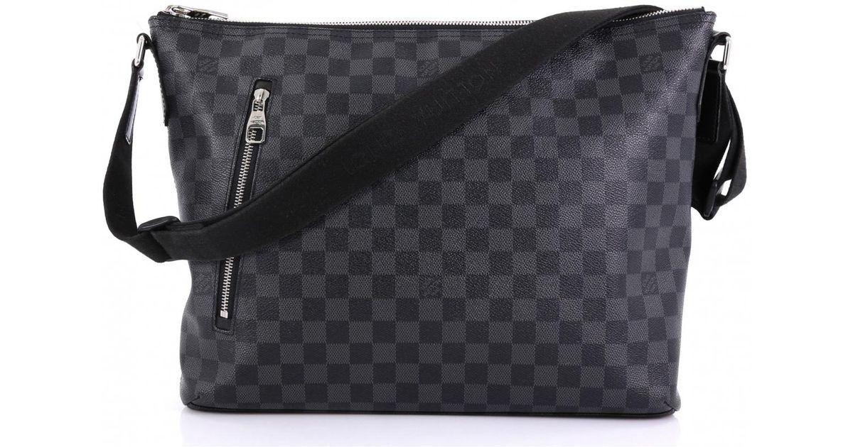 détaillant en ligne 70318 c3df1 Sac Mick PM en toile Louis Vuitton pour homme en coloris Gray