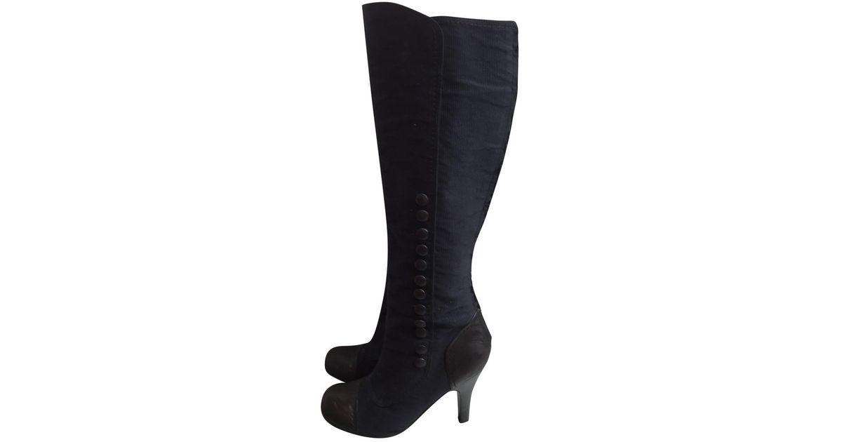 Pre-owned - Cloth boots Lanvin Sale Official Clearance 2018 New Discount Codes Really Cheap Clearance Good Selling eCKPcUH4Kn