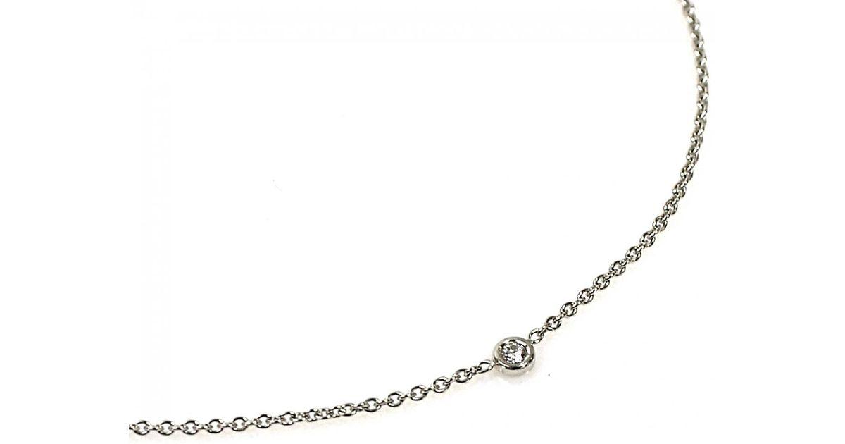e3c1fafd27 Dior Metallic Oui White Gold Necklace