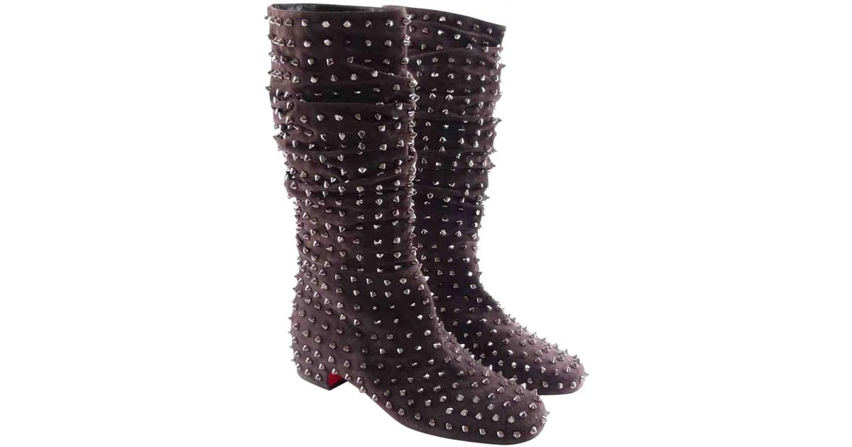 size 40 785b8 6c5f9 Christian Louboutin Multicolor Pre-owned Biker Boots