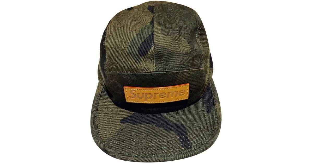 086331f8e62 Lyst - Louis Vuitton Pre-owned Hat for Men