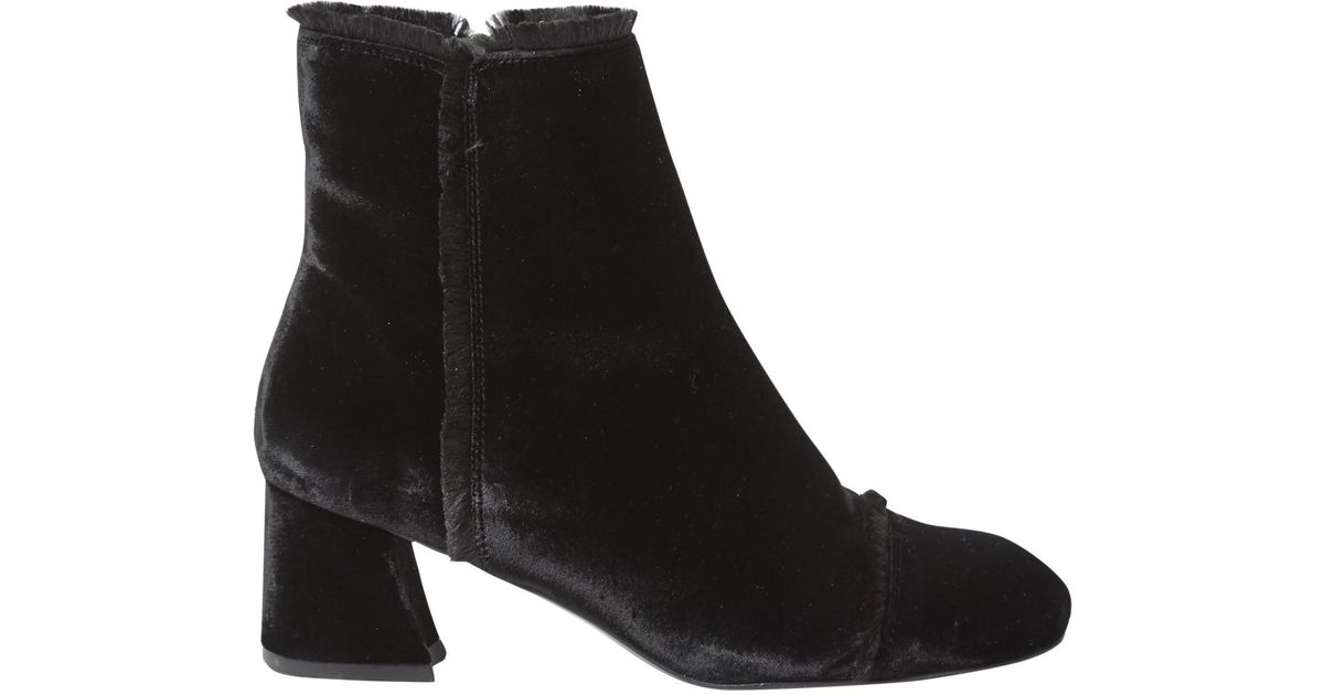 Clearance Pick A Best Pre-owned - Velvet ankle boots Stuart Weitzman Clearance Looking For Classic Outlet Best Wholesale byEgDqDxKj