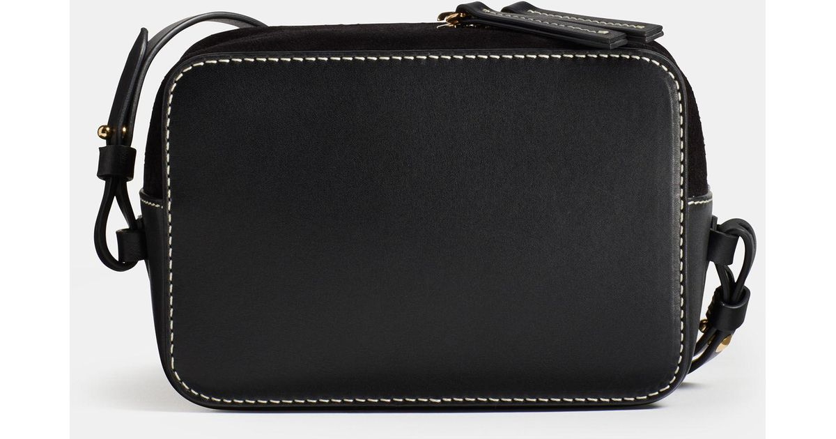 f75c4d2f4743 Vince Exclusive   Catalina Camera Bag in Black - Lyst