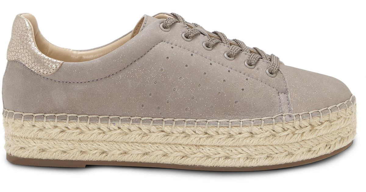 e4b0c162930 Lyst - Vince Camuto Jinnie – Espadrille Sneaker in Gray