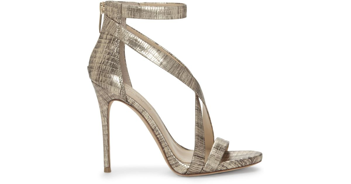Imagine Vince Camuto Devin3 Lizard Print Strappy Dress Sandals xjVNKZRdaI