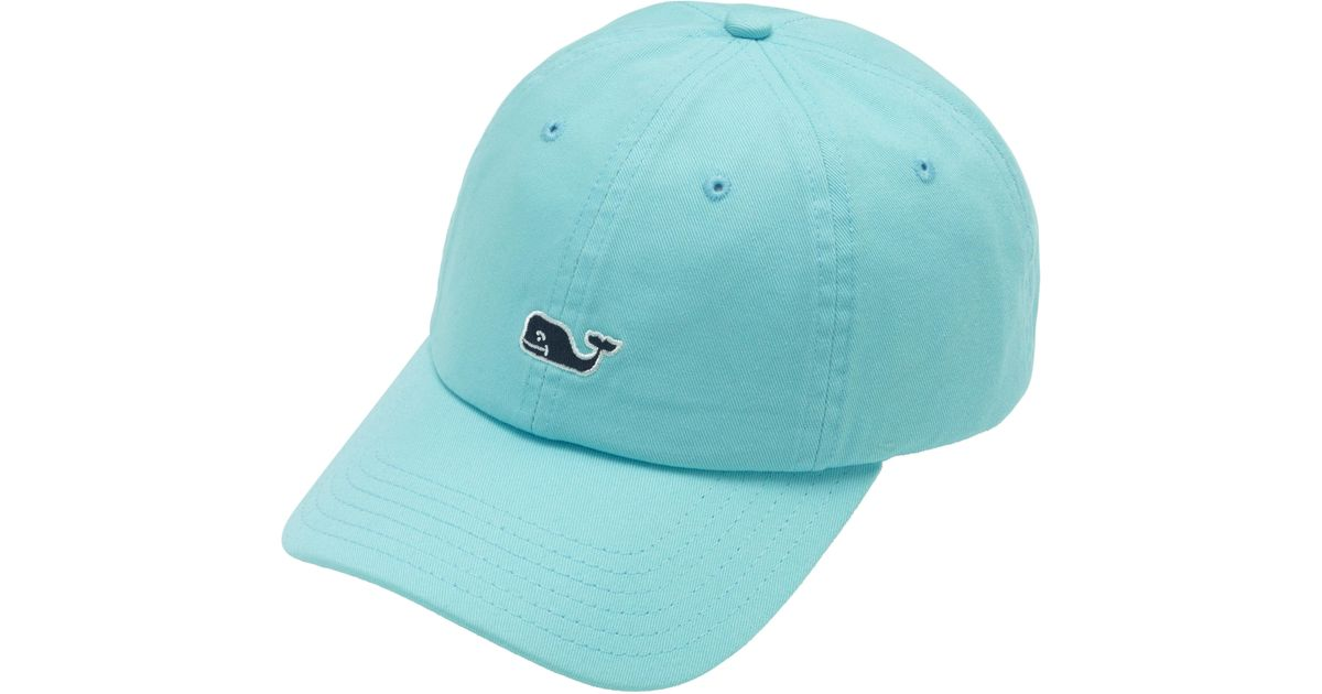 d721861ad15 Lyst - Vineyard Vines Whale Logo Baseball Hat in Blue for Men