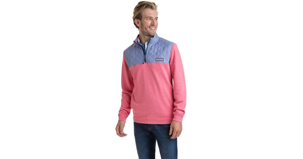 Vineyard Vines Cotton Performance Quilted Shep Shirt For