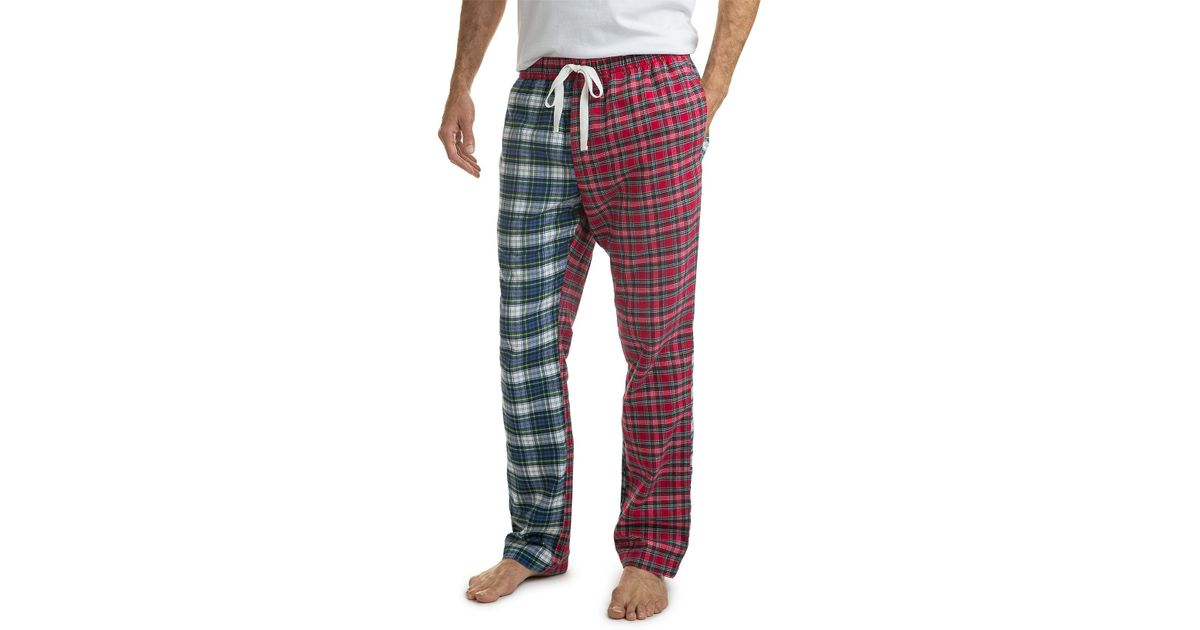 b35614aae8 Lyst - Vineyard Vines Holiday Party Lounge Pants in Red for Men