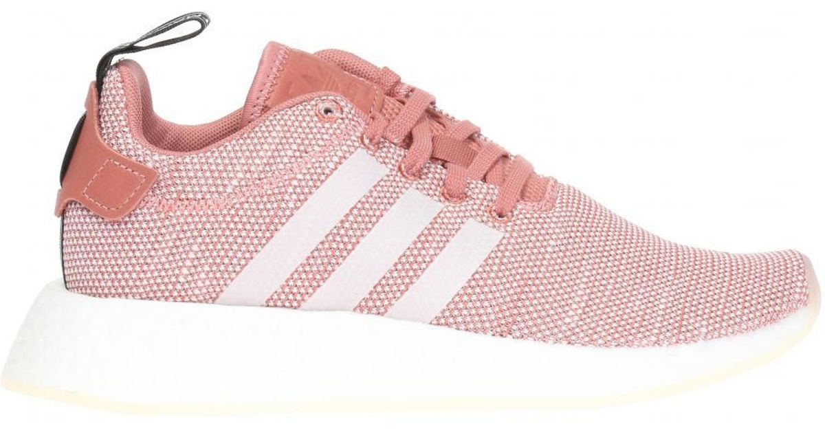 c51edc2a9e7ad adidas  nmd R2  Sneakers in Pink - Lyst
