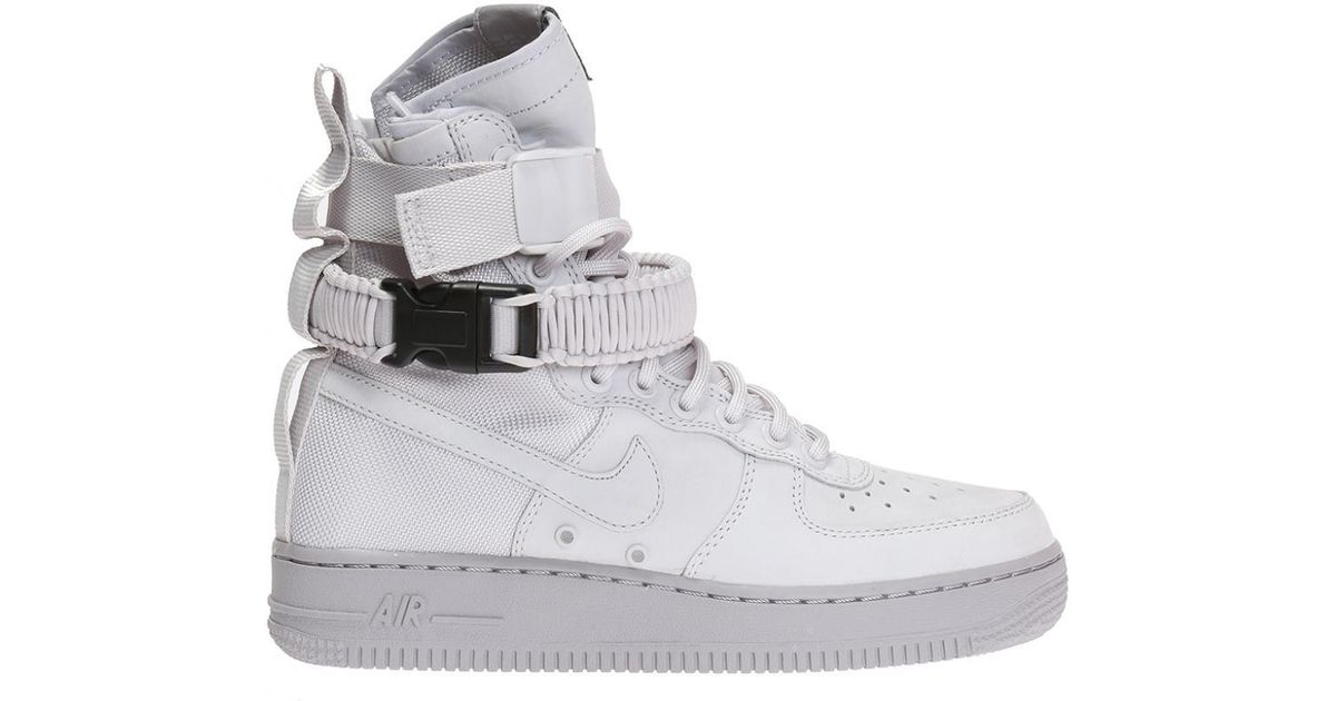 premium selection dfa38 b2bf0 Lyst - Nike  sf Air Force 1  High-top Sneakers in White
