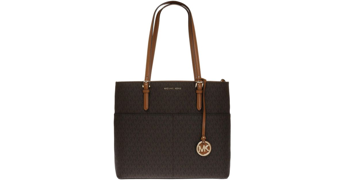 4c5b659ce64a3 ... greece lyst michael kors bedford shoulder bag in brown db30a f93c3  shopping ...