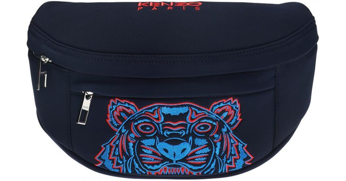 Kenzo Belt Lyst Blue Head For Motif Men Bag Tiger In F4wWqdwIO