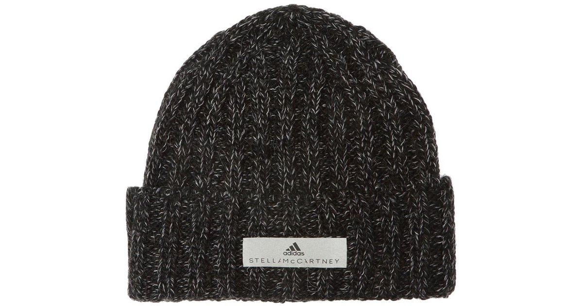 e95b31a43 Adidas By Stella McCartney Gray Woven Hat With Logo