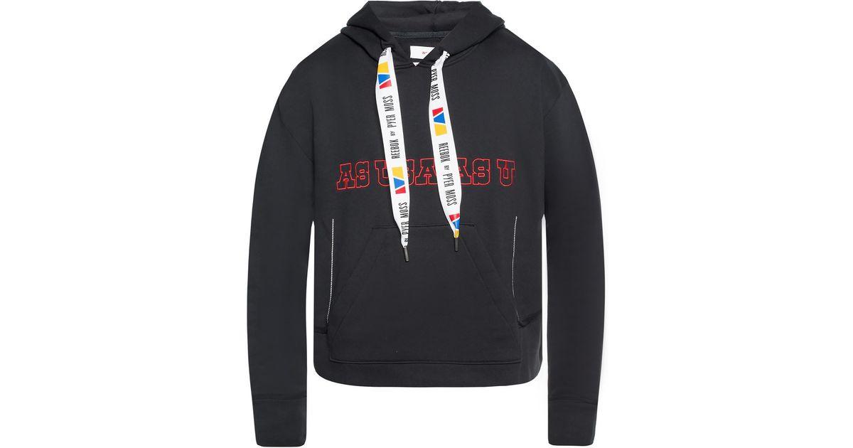Reebok Mens BL Full Zip Hoodie Hoody Hooded Top Colour Block Print Drawstring