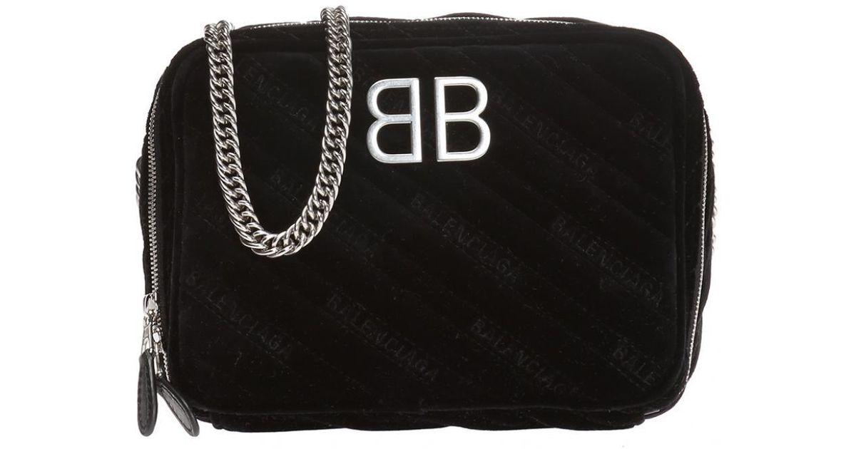 c9ce5e5a89 Balenciaga Bb Reporter  Shoulder Bag in Black - Lyst