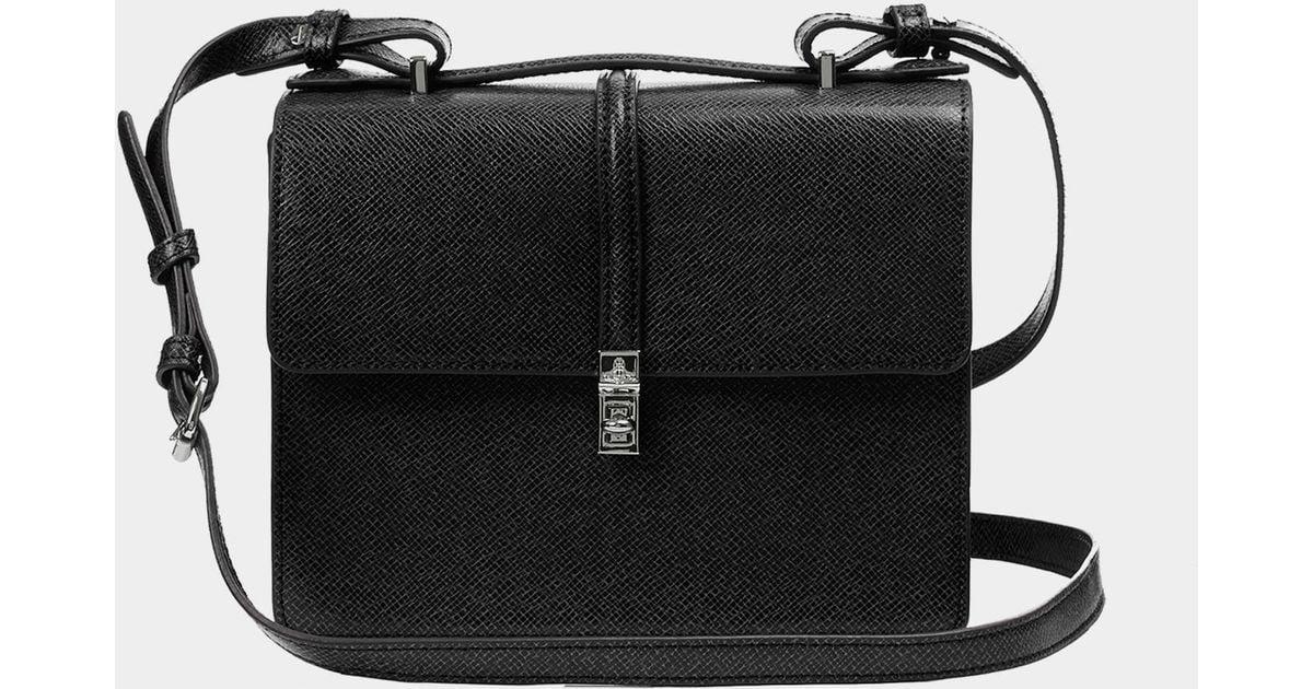 Vivienne Westwood Sofia Medium Shoulder Bag in Black - Lyst e8089200373d9