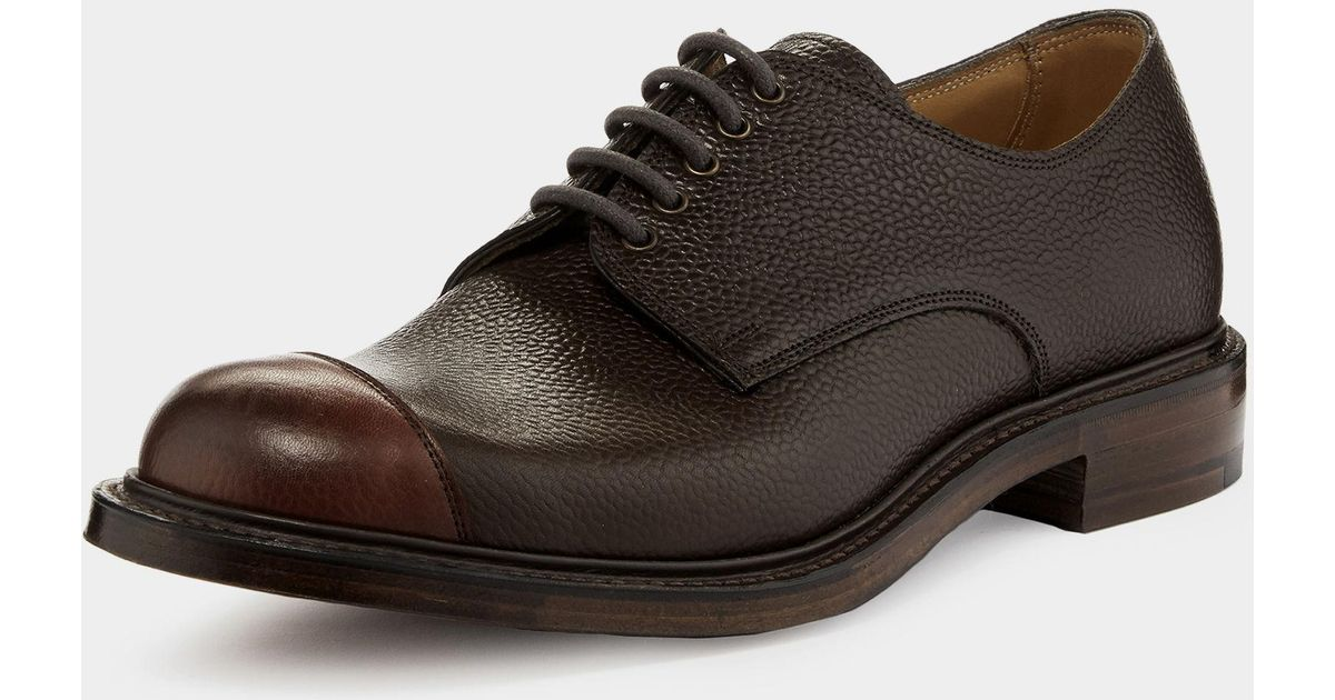 5cccd960233 Vivienne Westwood Brown Joseph Cheaney & Son Charlie Derby Lace Up Shoes  Burgundy/walnut for men