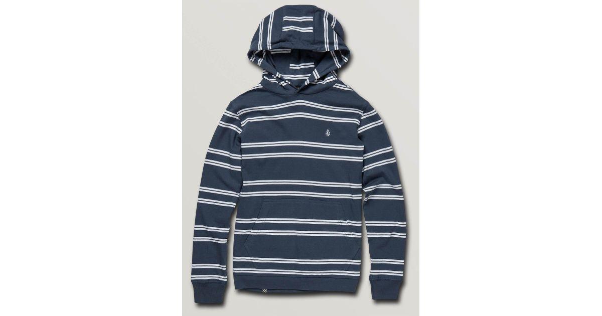 Volcom Mens Beauville Long Sleeve Hooded Shirt