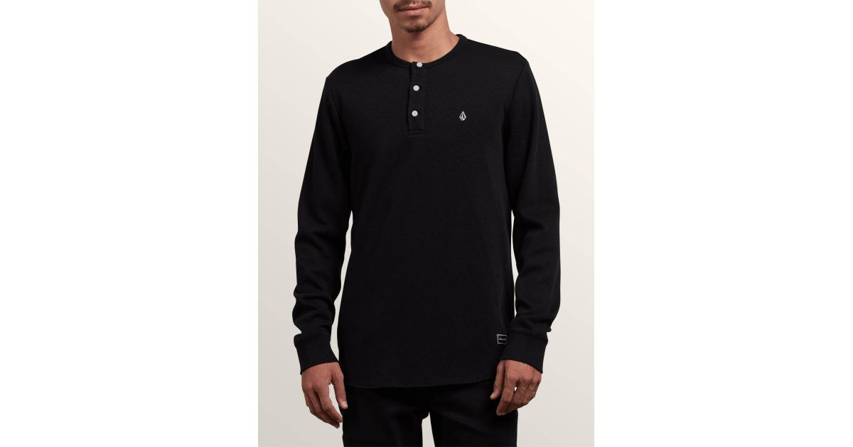 65e31a14 Volcom Layer Stone Shirt in Black for Men - Save 47% - Lyst