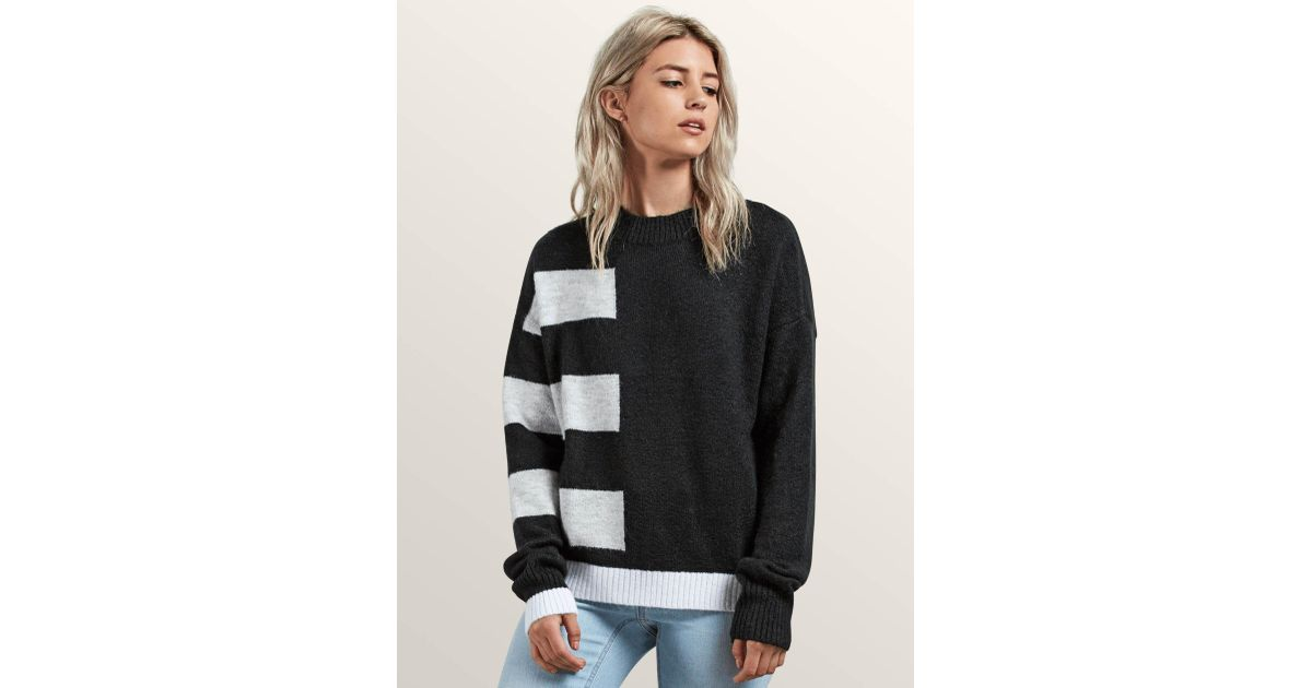 Volcom Womens Cold Band Wrap Open Front Cardigon Sweater