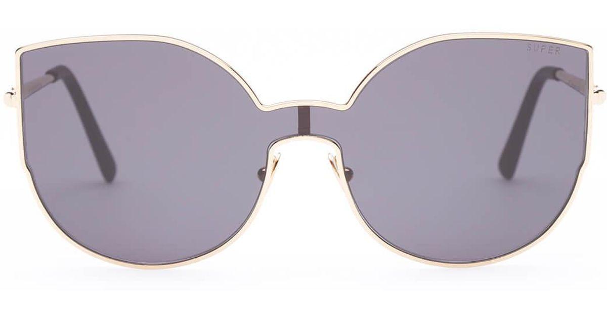 f1c1abd69eb Lyst - Retrosuperfuture Lenz Lucia Sunglasses in Black for Men