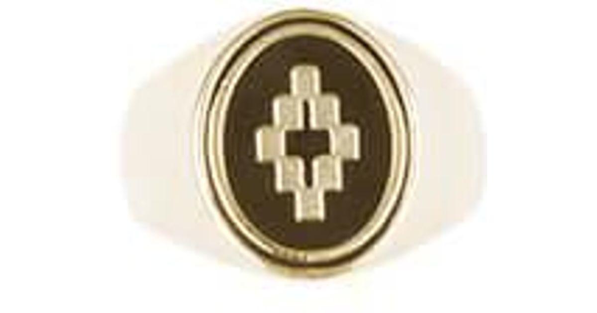 Marcelo Burlon Cross ring - Metallic qGx7PXV6