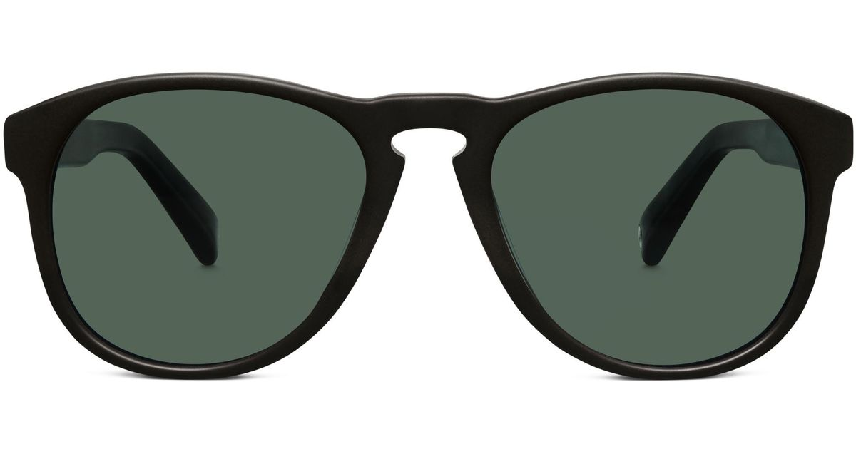 135103bbd3575 Warby Parker Griffin Sunglasses in Black - Lyst
