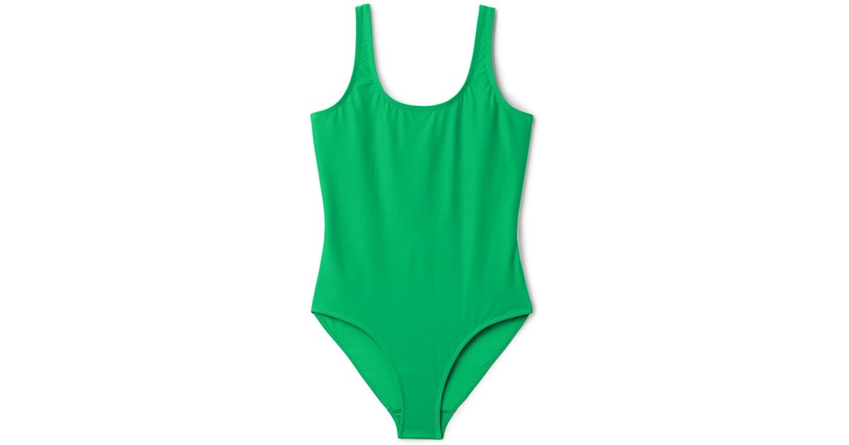 fa02b4b2e6 Weekday Day Swimsuit in Green - Lyst