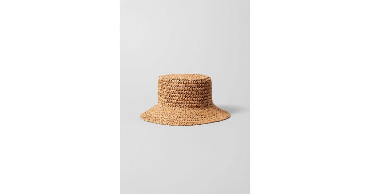 Natural Weekday In Viola Lyst Straw Hat u5FJcT13Kl