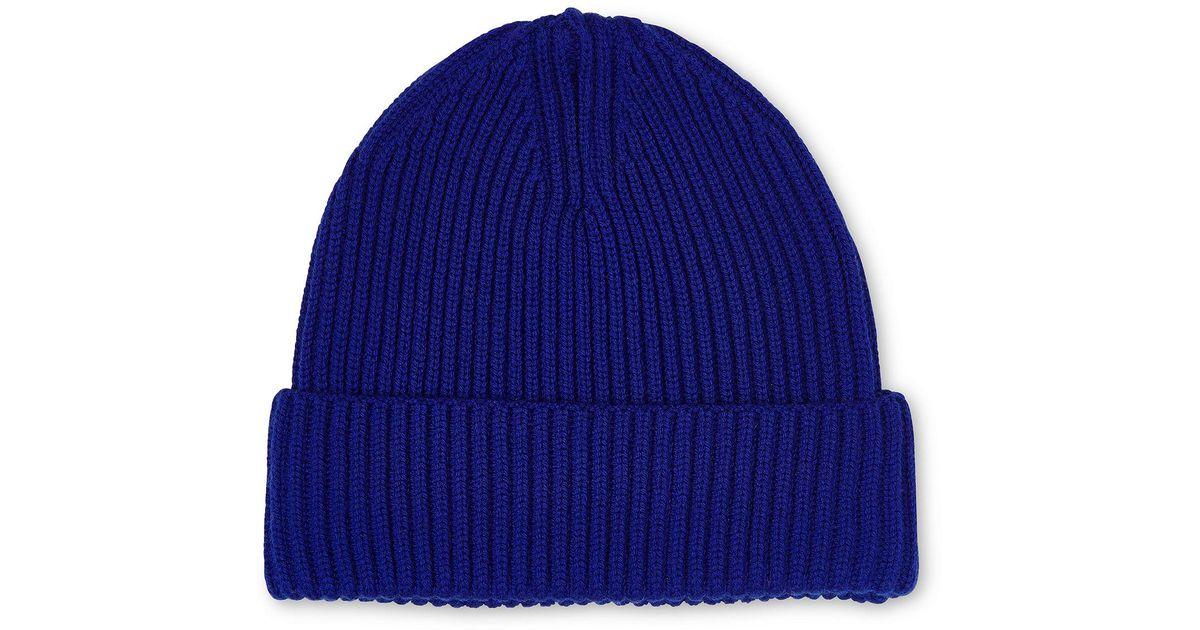 d78ae164700 Lyst - Whistles Mernio Wool Beanie in Blue for Men