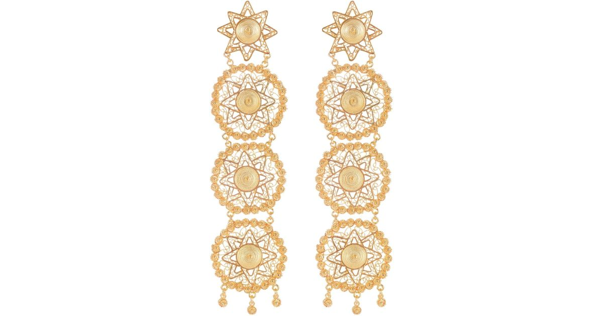Vanilo Pandora Earrings Gold 2RRM1PrN