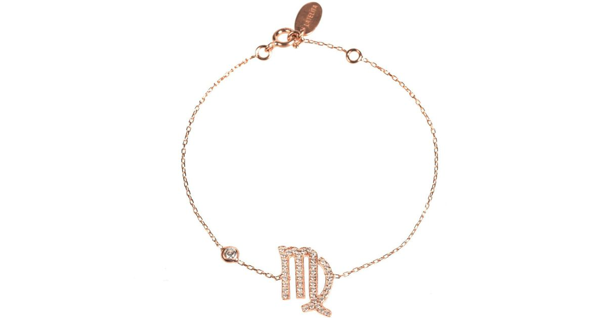 Latelita London Virgo Zodiac Bracelet Gold cPpmdbJ
