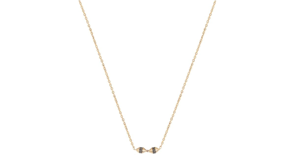 Jezebel London 14kt Rose Gold & Diamond Hyde Necklace ha5S8mOFE