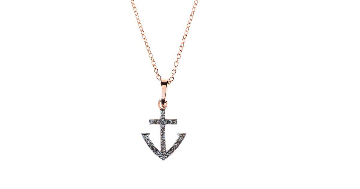 Latelita London Anchor Chain Oxidised With Diamonds loSYJG