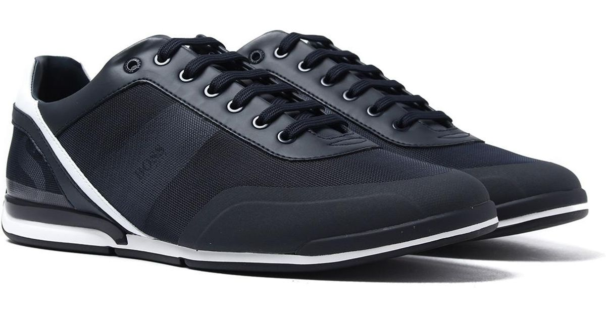 Boss Saturn Lowp Act3 Blue Trainers