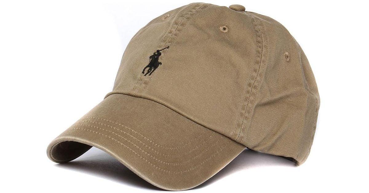 Lyst - Polo Ralph Lauren Granary Tan Classic Sport Cap in Brown for Men 474fa7e6fd7f