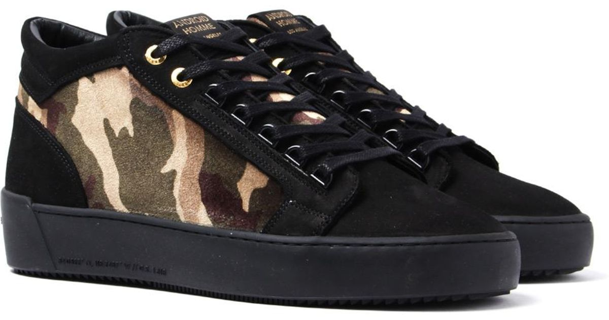 Android Homme Propulsion Mid Camo Black